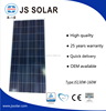 High Quality 140W PV Solar Module Poly Solar Panel manufacturer