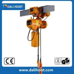 25T Stainless Steel Electric Chain Hoist with Hoist Trolley/Chain Block Hoist