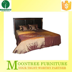 Moontree MBD-1115 Top Quality Hotel Wood Double Bed Frame