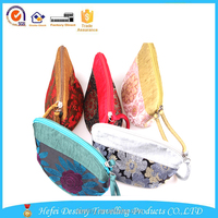 wholesale handbag china fashion woman cosmetic thai silk bag