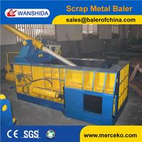 Professional used scrap metal balers factory