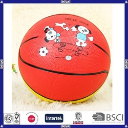 2015 made in china factory price rubber basketball
