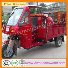 China 200cc Three Wheel Motorcycle/Cargo Motor Tricycle/Three Wheeler With Cabin