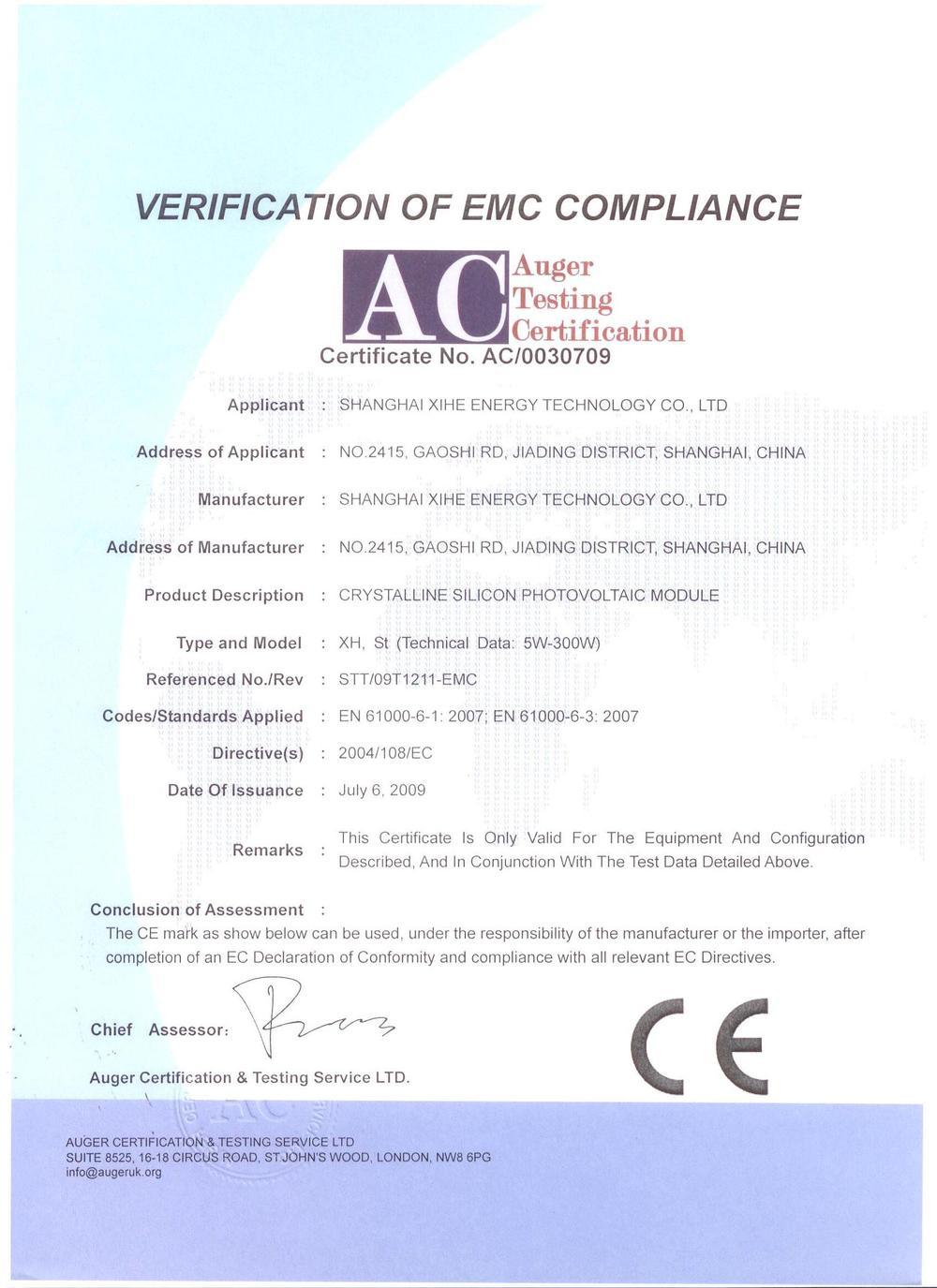 CE 001