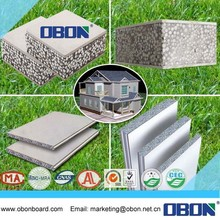 OBON fast installation lightweight exterior eps fiber cement sandwich wall panel prices