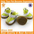 cão de estimação bonito impermeável botas de borracha de proteção da chuva sapatos de cores doces botinhas