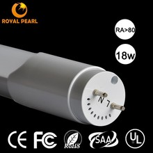 1800LM 4FT 18W UL t8 led tube isolated UL recognized driver