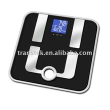 2015 Household high quality glass Body fat scales