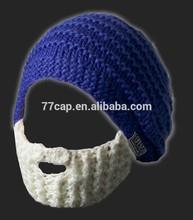 barba divertido gorros de punto sombrero y gorra de fábrica en china