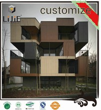 LIJIE cheapest installment CNC process machine exterior constraction material wall siding outdoor hpl panel sheet