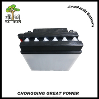 MF motorcycle battery parts with 12 Volt