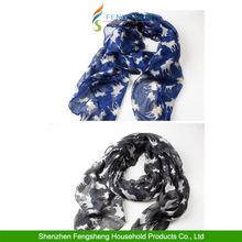 Women Scarves Cute dog long puppy shawl Fashion scarf Wrap