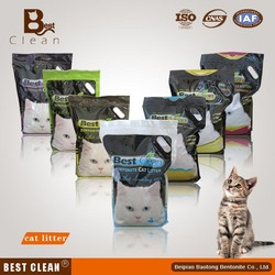 clay clumping cat litter bentonite cat sand best clean brand