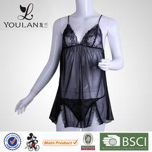 Customized LOGO Charming Feeling Curve Black Elasticity Womens Sexy Wear