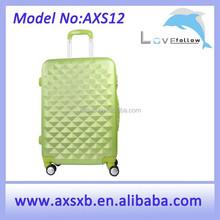 2015 fashion ABS trolley case fancy luggage bags travel trolley luggage bag