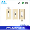Zyiming Wholesales YM-G01 high quality gift promotional otg usb flash drive for smart phone