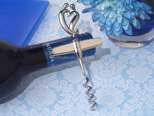 Divine Two Hearts Become One Wine Opener