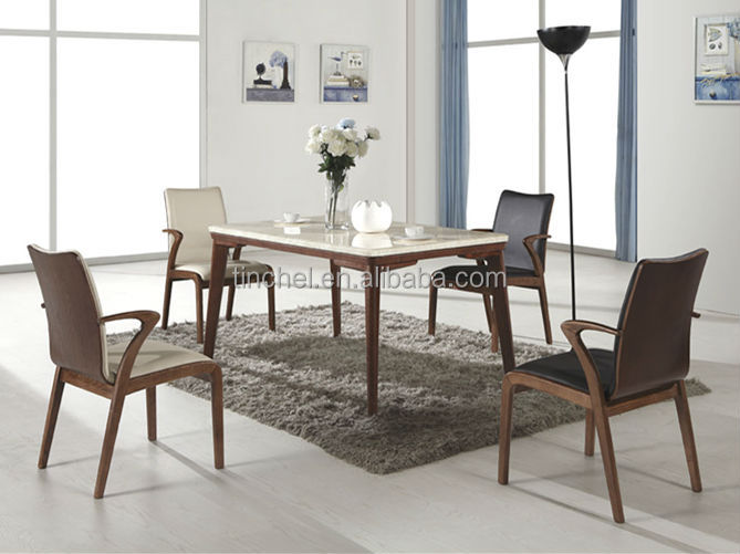 Moderna de madera maciza comedor set/sillas de comedor conjunto de ...