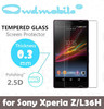 HD clear Tempered glass screen protector/ screen film for SONY 0.3mm round edge