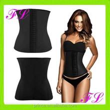 Wholesale woman's sexy rubber waist training corset