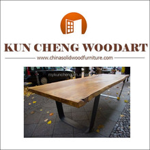 Solid wooden dining sets/Farm Table Dining Table Rustic Cowboy/Western Folk Art Primitive Furniture 9