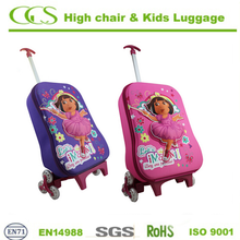 lightweight wheeled luggage bags trolley suitcase for kids