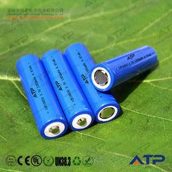 Factory supply 18650 li-ion battery 3.6v 1300mah / 3.6v li-ion battery 1300mah /1300mah 18650 li-ion rechargeable battery