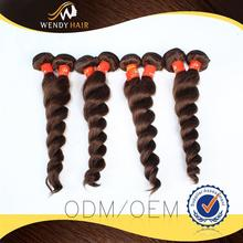Loose Wave 100% virgin brazilian and peruvian hair with years of oem experience