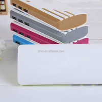 10set/lot, 2600mAh mobile power supply Powerbank for multi color support usb micro cable
