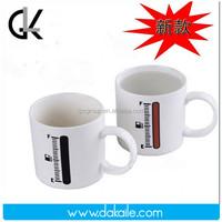11oz ceramics color changing mug / heat sensitive color changing mugs