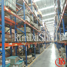 unit shelves truck tire selective racking system