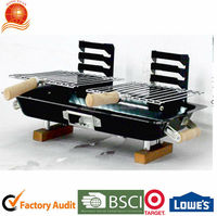 Japanese easy charcoal grill for camping Hongxuan BBQG-319