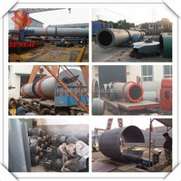 China Leading Wood Chips Rotary Dryer Production Base from Sentai