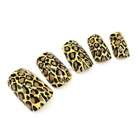 3D artificial glamour nail tips