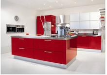 kitchen cabinets Red Bespoke Modular Modern Kitchen cabinet
