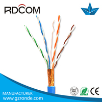Cable Cat5e 24AWG 305M Cheap Price ftp copper rubber cable cat5e