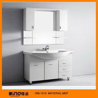 lacquer and wengue MFC bathroom vanity