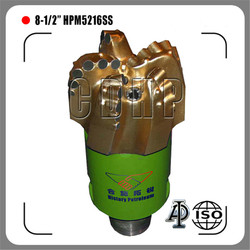 "8 1/2"" oil rig drill bit, pdc drill bit, api drill bit for sale, used pdc drill bit for oil and gas"