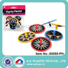 Party Favor mini plastic Dia 4cm Spin tops toy