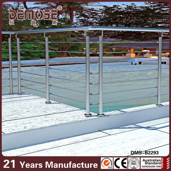 Steel Handrail Designs/ Railing Tangga Stainless Steel Harga - Buy ...