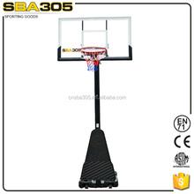 removable adult portable basketball stand