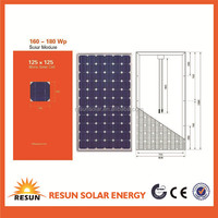 Super Quality and Low Price 150 watt solar power panel