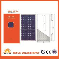 Super Quality and Low Price 150 watt solar power panel