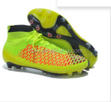 Lightweight Waterproof Outdoor TPU Football Boots , Outdoor Soccer Cleats Brand cheap RB football cleats manufature 2014
