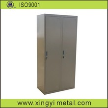 powder coated vent steel locker / vertical 4 compartment metal lockers/air vent mini locker