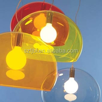 China manufature cheap OEM acrylic dome lampshade with high quality acrylic