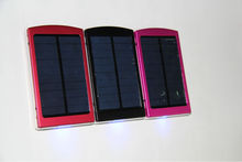 Good quality colorful solar energy excellent power bank