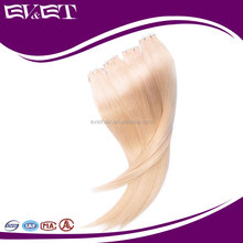 EVET brazilian hair wholesale distributors supply two tone PU-Tap remy human hair extension
