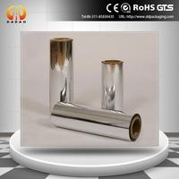 12 micron liquid packaging film chemically metallised polyester film
