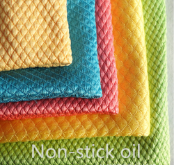 South Korea French terry dish towel non-stick oil